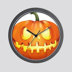 Halloween - Jackolantern Wall Clock