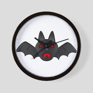 Halloween - Vampire Bat Wall Clock