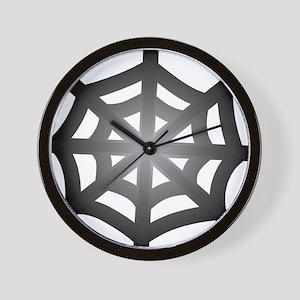 Halloween - Spider Web Wall Clock