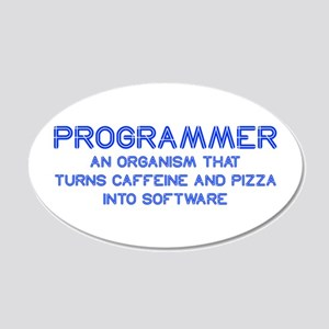programmer-SO-BLUE Wall Decal