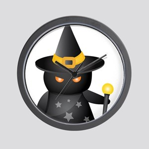 Halloween - Warlock Wall Clock