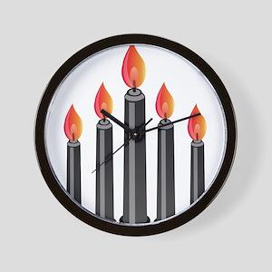 Halloween - Candles Wall Clock