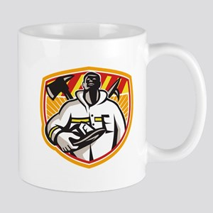 Fireman Firefighter Axe Hook Pike Pole Mugs