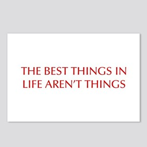 best-things-in-life-OPT-RED Postcards (Package of