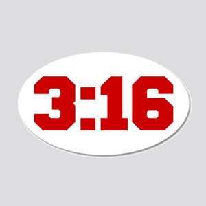 3-16-fresh-red Wall Decal