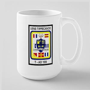 T AO 199 USNS Tippecanoe Large Mug