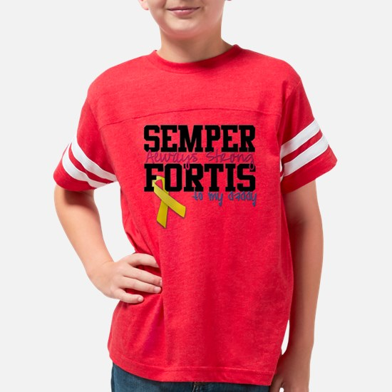 semperfortisdaddy Youth Football Shirt