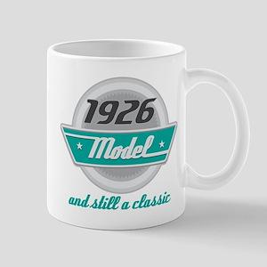 1926 Birthday Vintage Chrome Mug