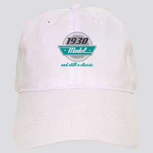 1930 Birthday Vintage Chrome Cap