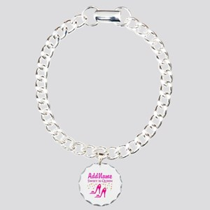 16TH BIRTHDAY Charm Bracelet, One Charm