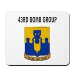 43RD BOMB GROUP Mousepad