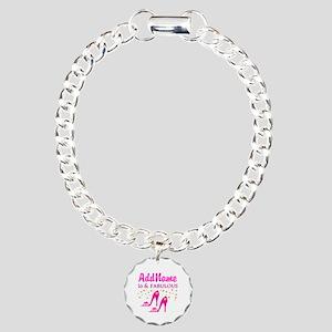 TERRIFIC 16TH Charm Bracelet, One Charm