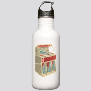 Grunge Retro Jukebox Stainless Water Bottle 1.0L