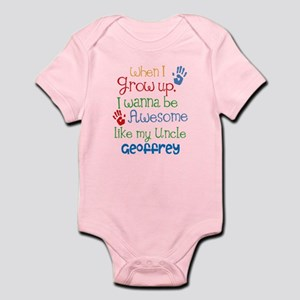 Baby from uncle gifts cafepress personalized awesome like my uncle infant bodysuit negle Gallery