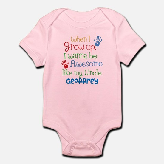 Personalized Awesome Like My Uncle Infant Bodysuit