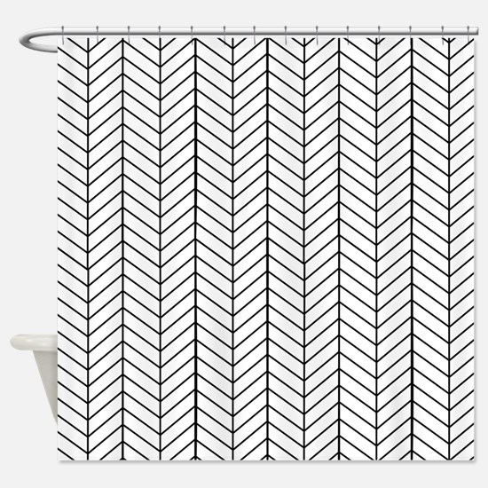 Black And White Shower Curtains | CafePress