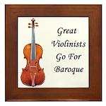 Go for Baroque Framed Tile