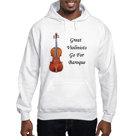 Go for Baroque Hooded Sweatshirt