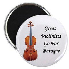 Great Violinists Go for Baroque Magnet