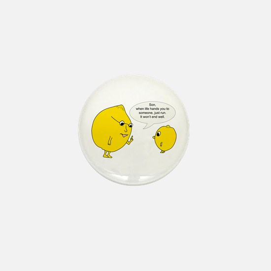 Lemonly Advice Mini Button (10 Pack)