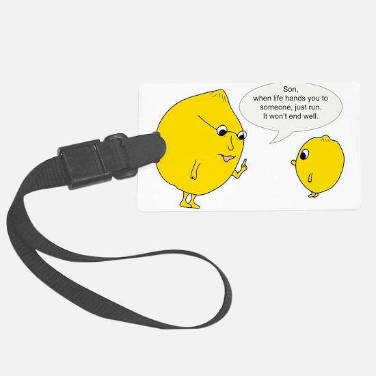 Lemonly Advice Luggage Tag