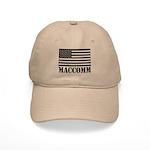 US Flag MacComm Cap