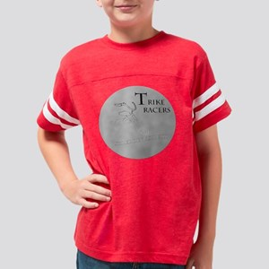 trike racers shred Youth Football Shirt