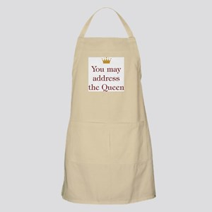 Address the Queen BBQ Apron