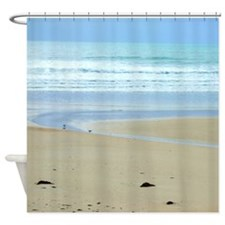 Peaceful Beach Shower Curtain