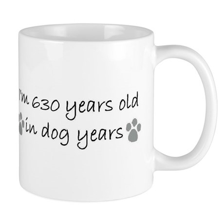 90 dog years mug.JPG Mugs