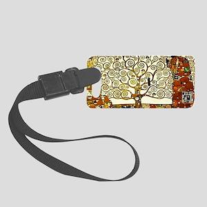 Klimt - The Tree of Life Small Luggage Tag