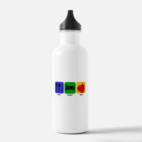 Eat Sleep Box Sports Water Bottle