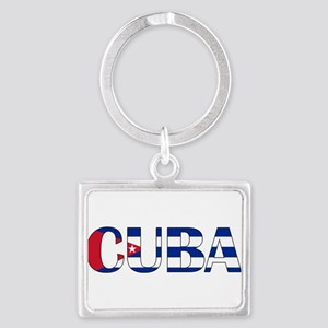 Cuba Landscape Keychain