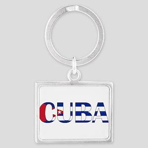 Cuba Logo Keychains