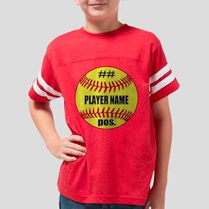 Personalized Fastpitch Softba Youth Football Shirt