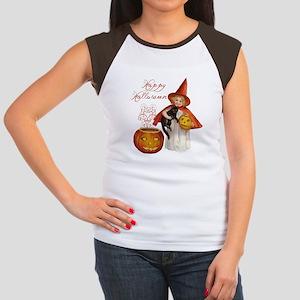 Vintage Halloween witch T-Shirt