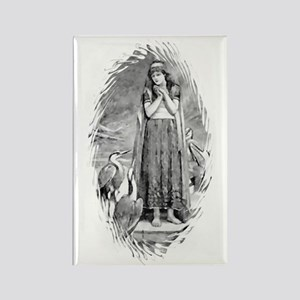 Freyja, Goddess of Love & War Rectangle Magnet