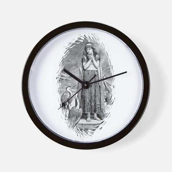 Freyja, Goddess of Love & War Wall Clock