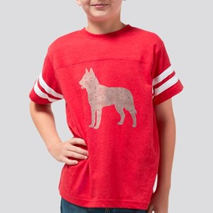 d027 Belgian Laekenois Youth Football Shirt
