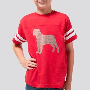 d056 Bullmastiff Youth Football Shirt