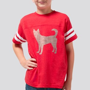 d058 Canaan Dog Youth Football Shirt