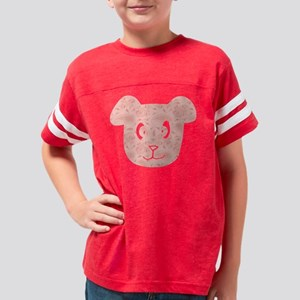d087 Dog Youth Football Shirt