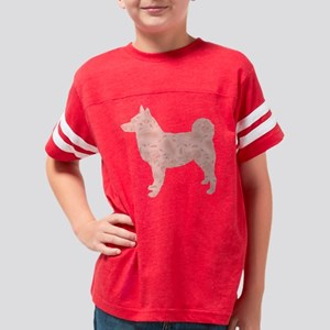 d169 Norwegian Elkhound Youth Football Shirt