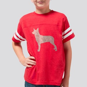 d226 Stumpy Tail Cattle Dog Youth Football Shirt