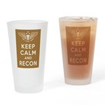 Wolves of War 1 Drinking Glass