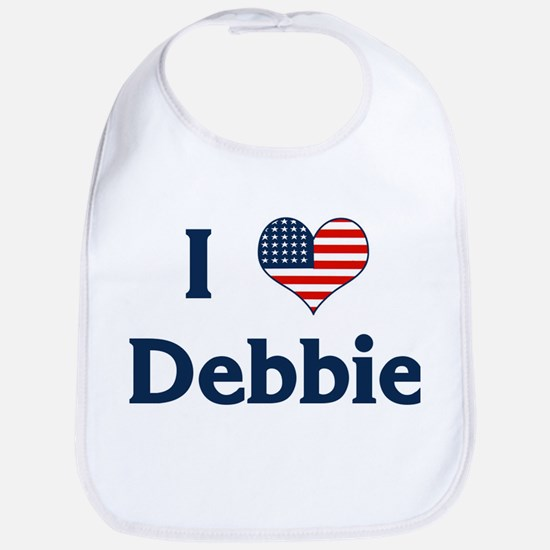I Love Debbie Bib