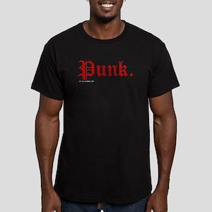 Punk Music Men's Fitted T-Shirt (dark)