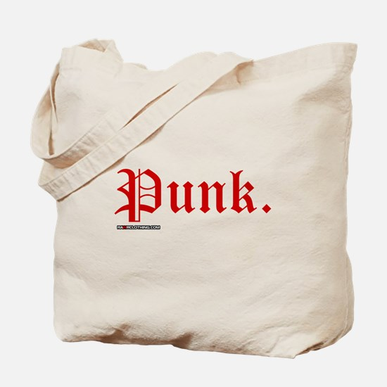 Punk Music Tote Bag
