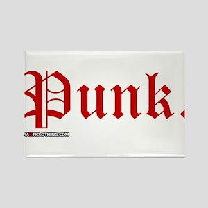 Punk Music Rectangle Magnet