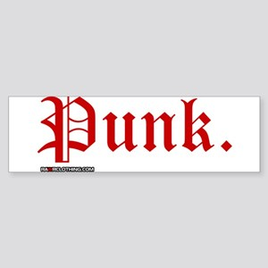 Punk Music Sticker (Bumper)
